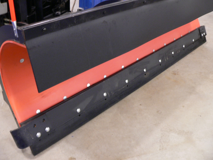 high density molded rubber snowplow blades  edges